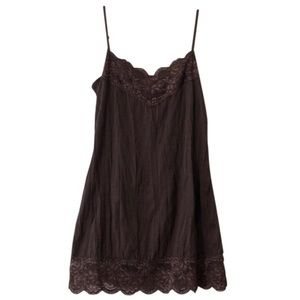 EUC Maurice's Lace Cami Camisole, Small